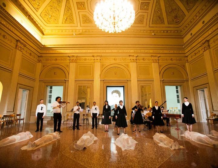 Il Palazzo di Atlante, Sezione Aurea/ Anagoor, 2013